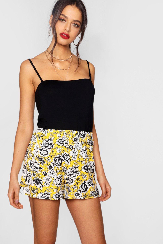 Floral Flippy Shorts