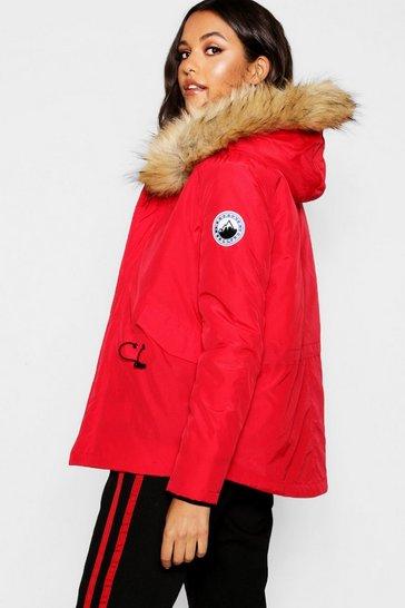 Parka Jackets Women S Parka Coats Camo Fur Khaki