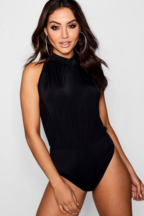 Slinky High Neck Bodysuit