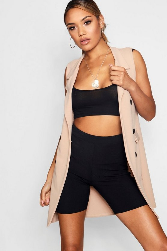 Collared Pocket Duster Jacket Collared Pocket Duster Jacket by Boohoo