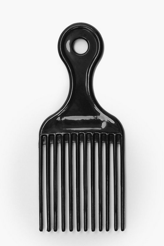 Womens Black Afro Comb