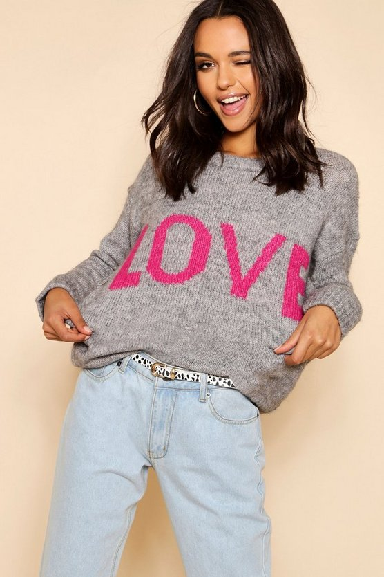 Loose Fit Love Jumper