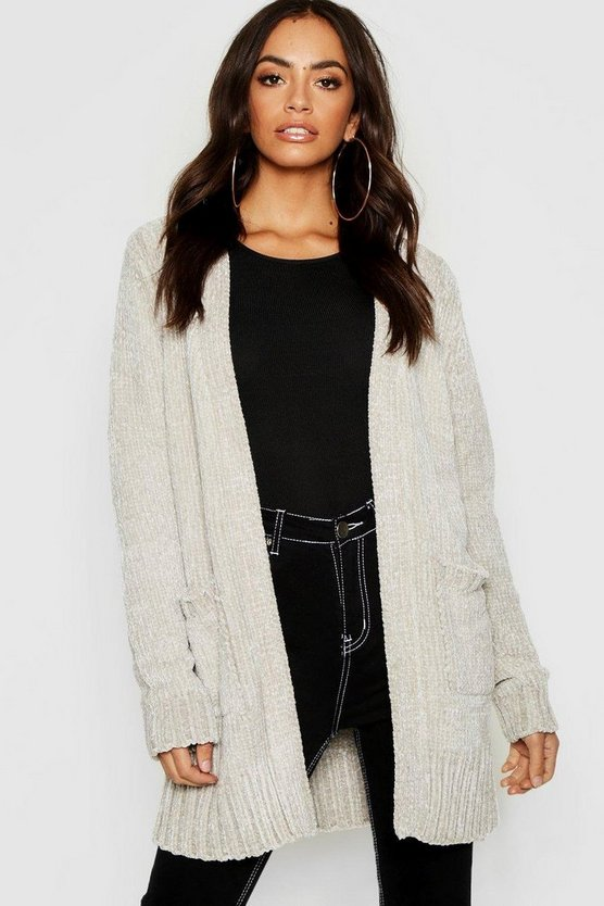 Chenille Edge To Edge Cardigan