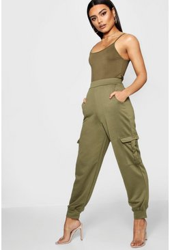 Military green Cargo Utility Jogger Trouser