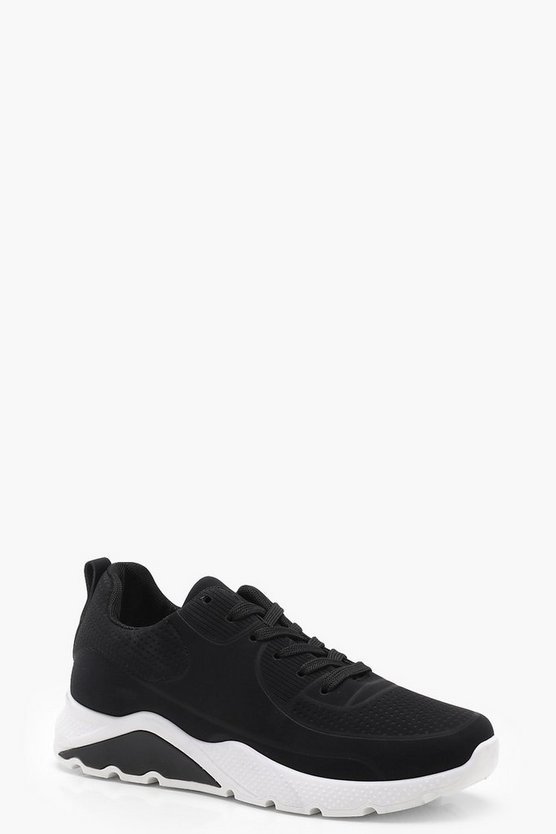Lace Up Chunky Sports Trainers