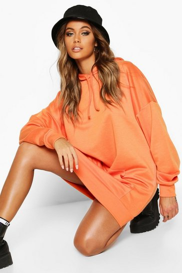 Womens The Perfect Oversized Hooded Sweat Dress