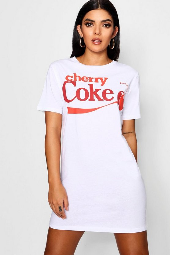 Cherry Coke T-Shirt Dress