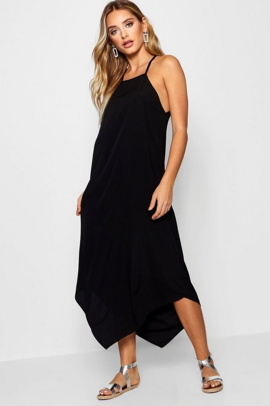 Dip Hem Cami Maxi Dress
