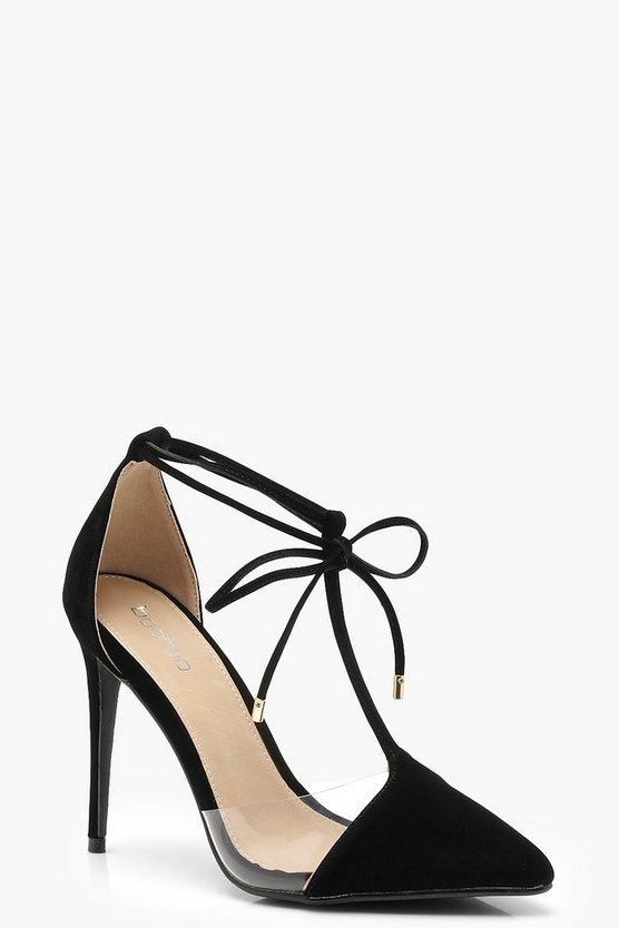 Pointed T Bar Heels