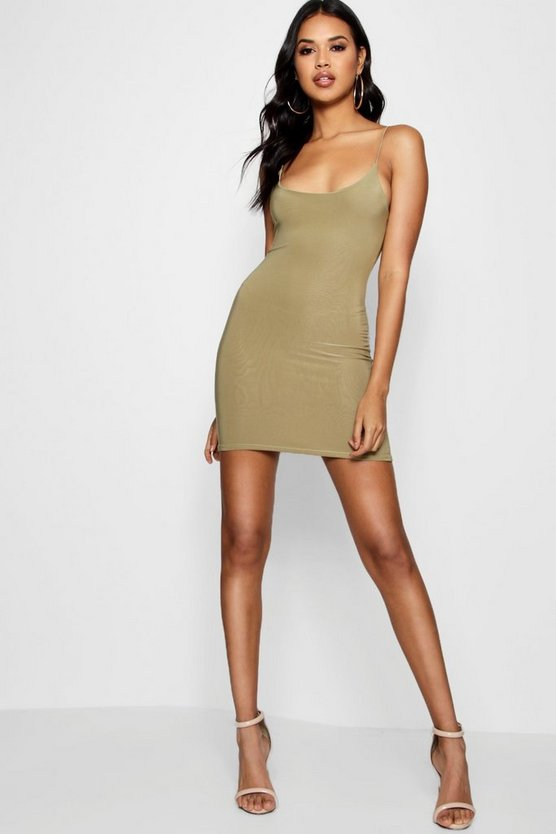 Strappy Double Layer Bodycon Dress