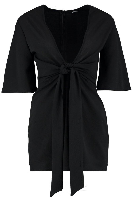 Tie Tie black Front black Front Tie black Playsuit Front Tie Playsuit Playsuit IwfAwY
