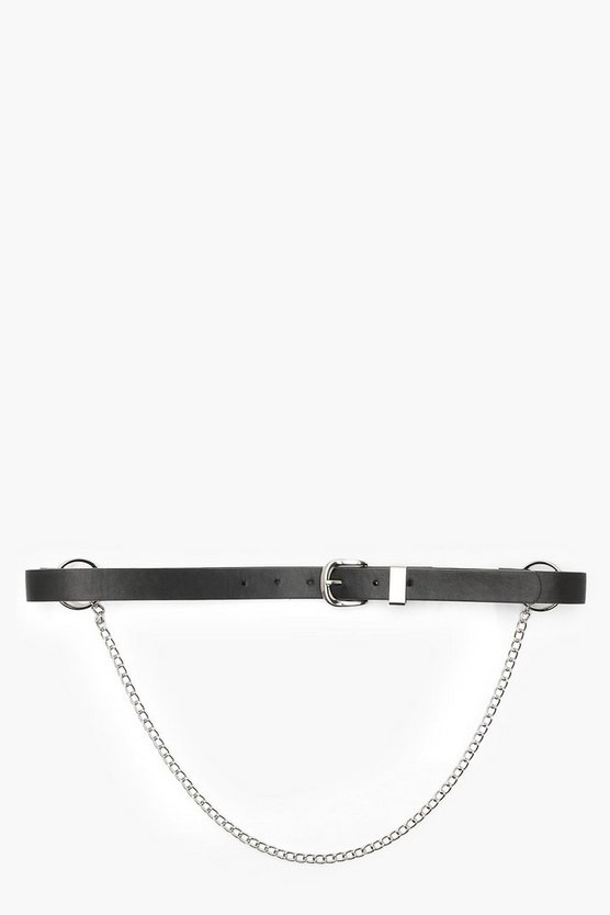 Ring And Chain Boyfriend Belt