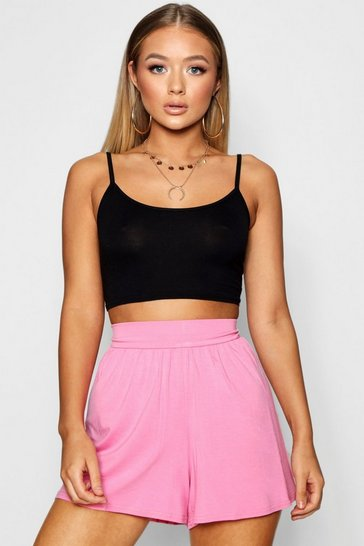 Millennial pink Basic Flippy Shorts