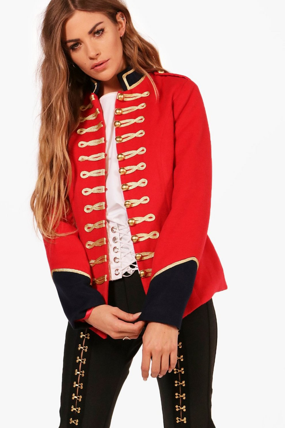4de0bea2aedd Military Style Jacket | Boohoo
