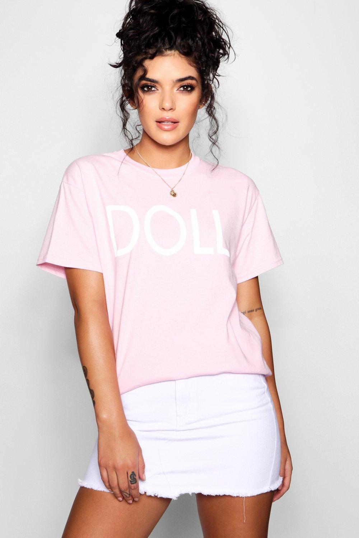 Doll Slogan Doll T Shirt Slogan 0dqBWwxS