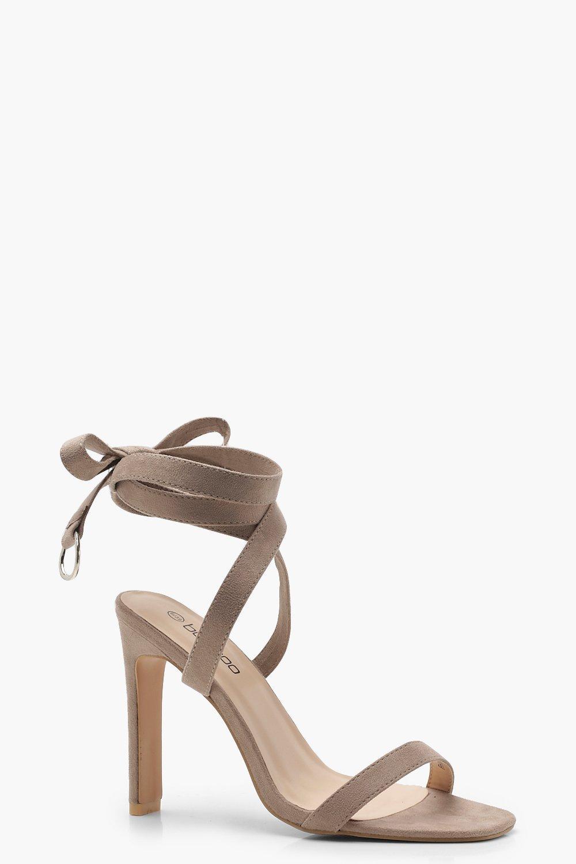 Boohoo Tendencia de moda Wrap Strap D Ring Sandals Boohoo - Zapatos Descuento MIRHYZN