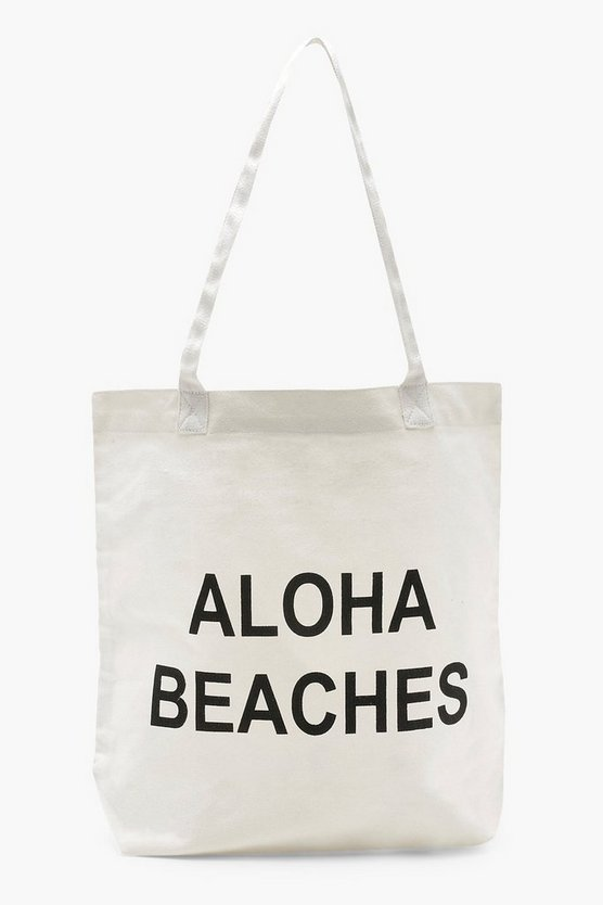 Beach Slogan Shopper
