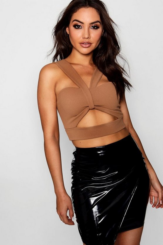 Twist Front Cut Out Bralet