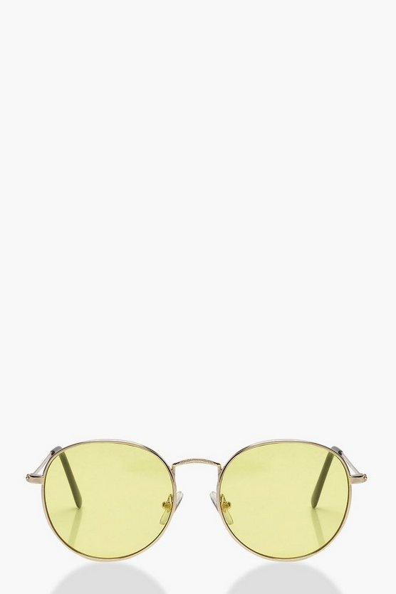 Pastel Lens Retro Sunglasses
