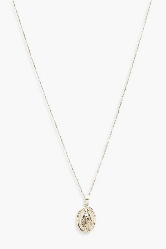 Womens Sovereign Pendant Skinny Necklace