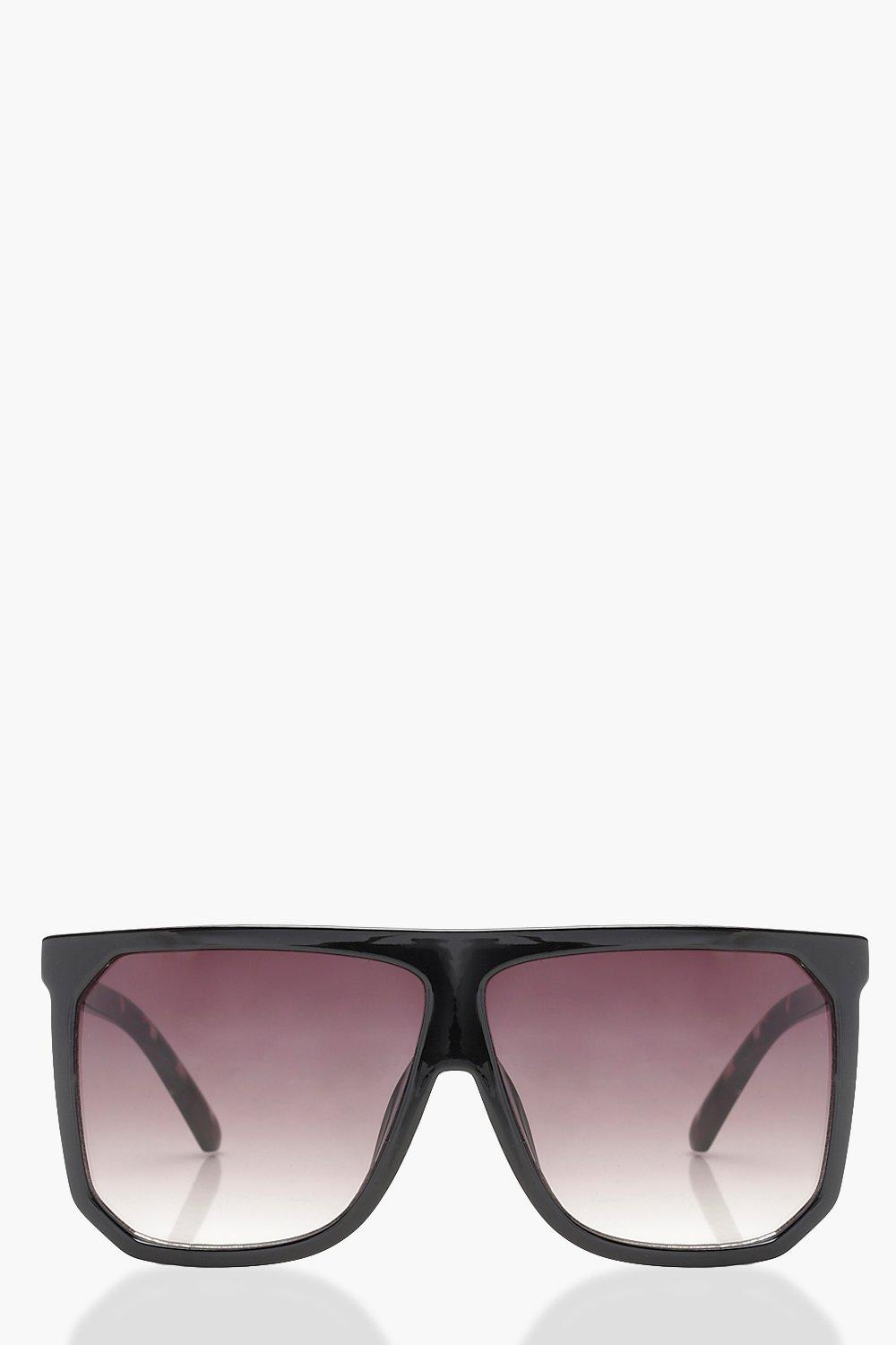 b3e2bc003f Flat Top Oversized Sunglasses. Hover to zoom