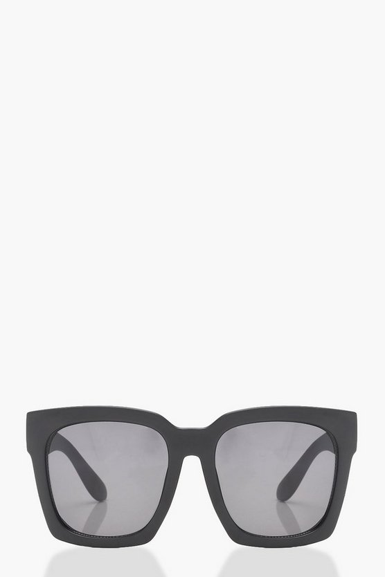 Super Oversized Square Frame Sunglasses