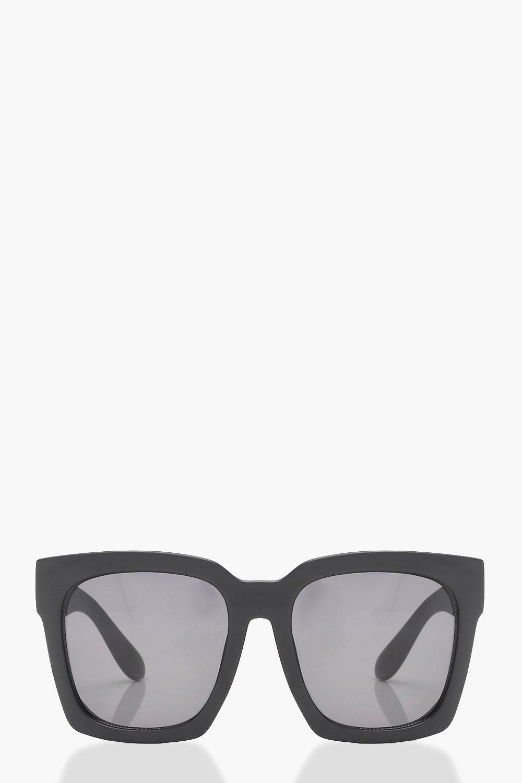 Oversized Square Frame Sunglasses   Boohoo