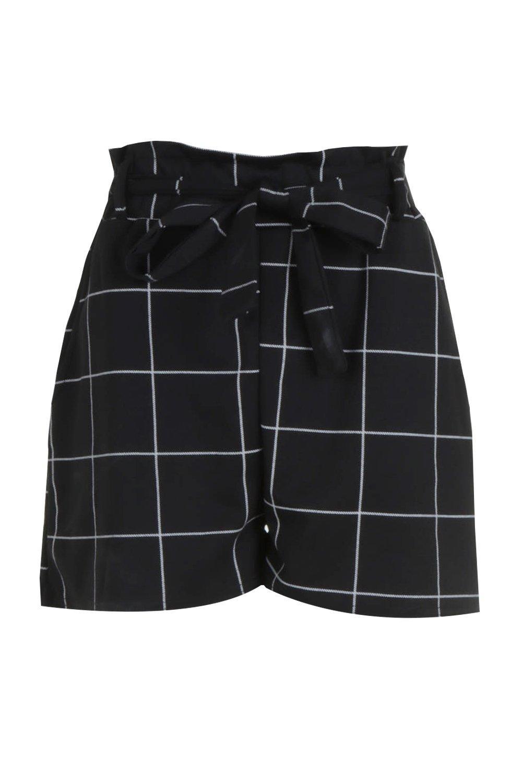 cintura Pantaloncini Pantaloncini a con a quadri wpgUpPq8O