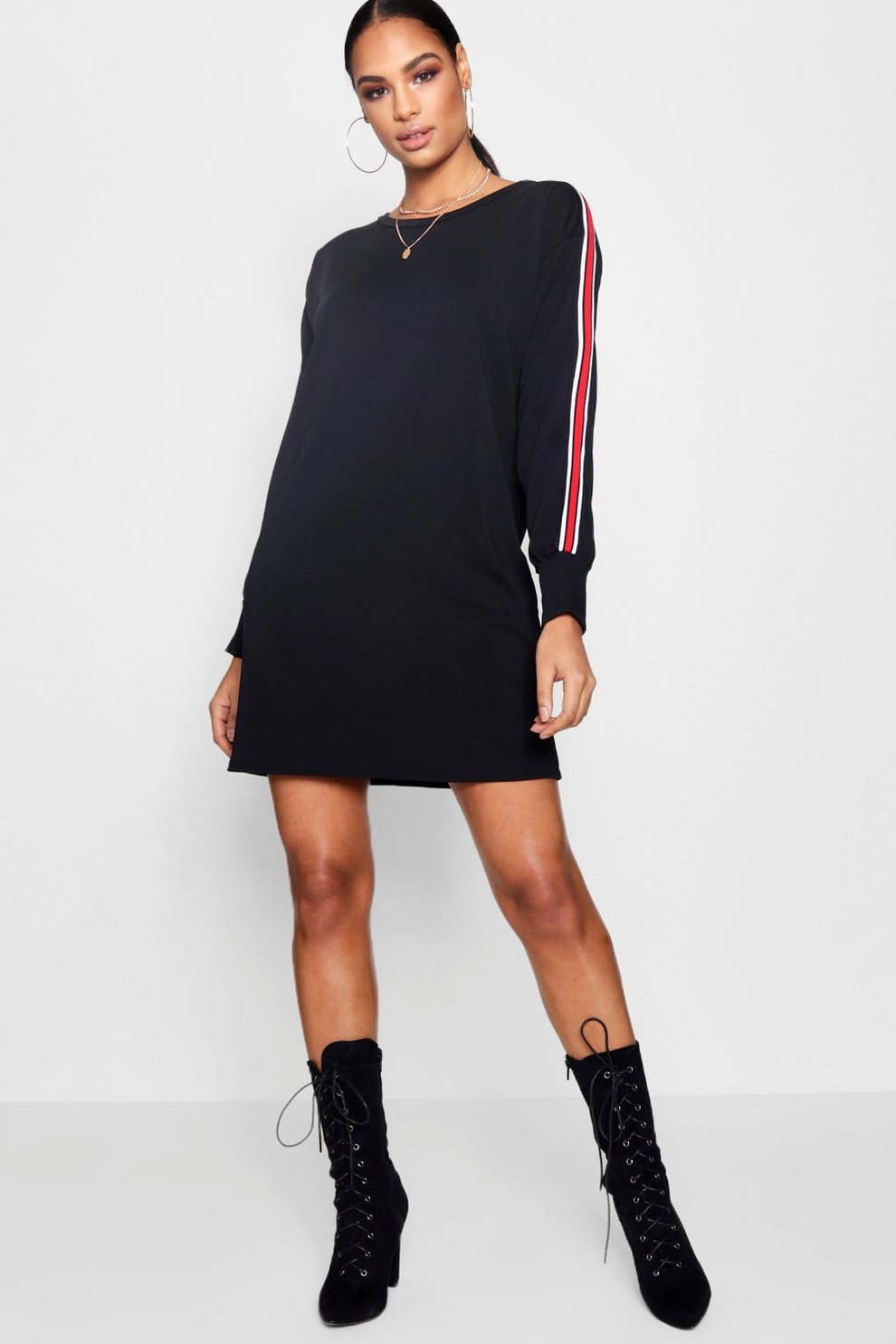 ec44d6baa74 Sports Stripe Sweat Dress