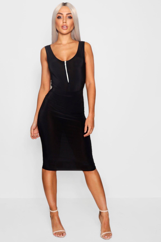 Boohoo Sell well Falda midi elegante Boohoo - Faldas Comprar UAHWTTW