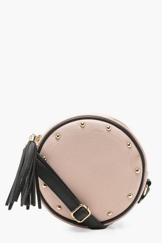 Round Tassel Cross Body