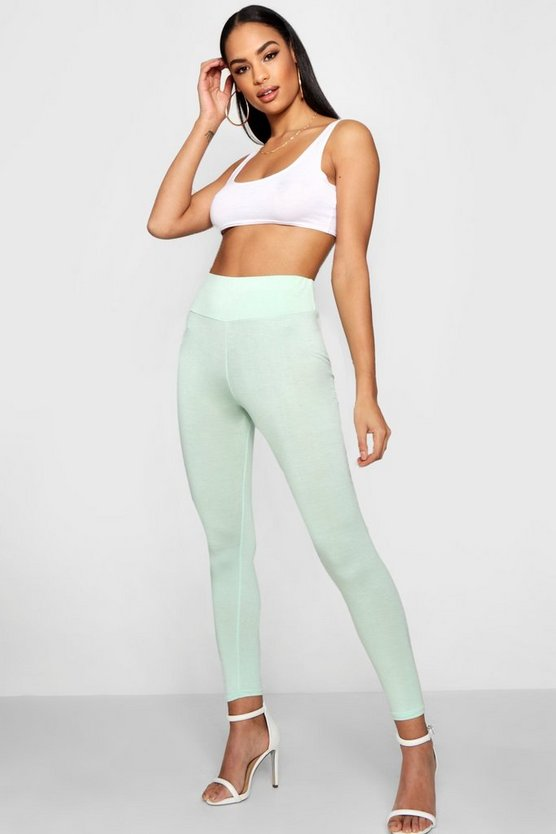 Basic High Waist Leggings