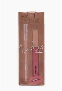 Womens Red Boohoo Matte Lip Cream
