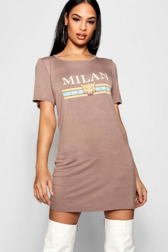 Milan T-Shirt Dress