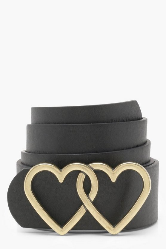 Rosie Double Heart Boyfriend Belt