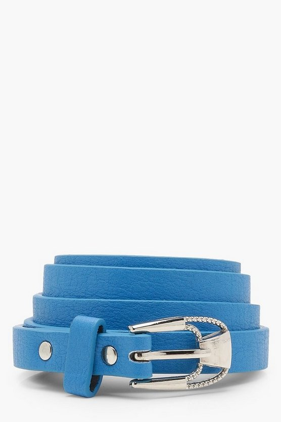 Natalie Skinny Colour Pop Belt