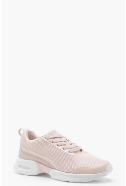 Womens Marshmallow Chunky Sports Sole Trainers