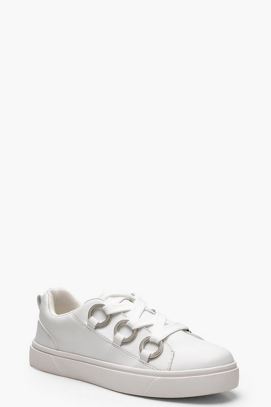 Eyelet Chunky Lace Trainers