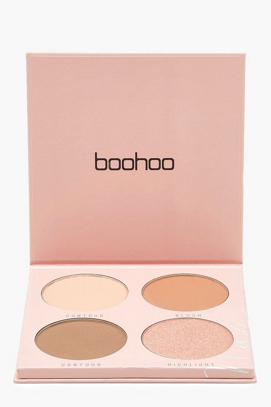 Boohoo Powder Blush Palette 4 Shades
