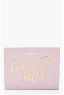 Womens Pink Boohoo Galactic Mist Quilted Baked Highlighter