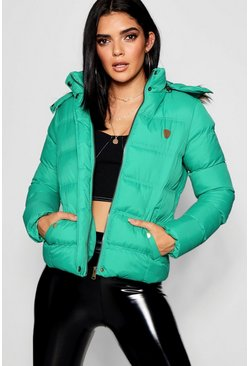 Womens Jade Short Quilted Jacket