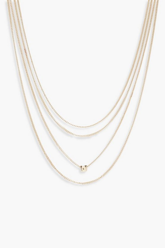 Julia Simple Layered Necklace