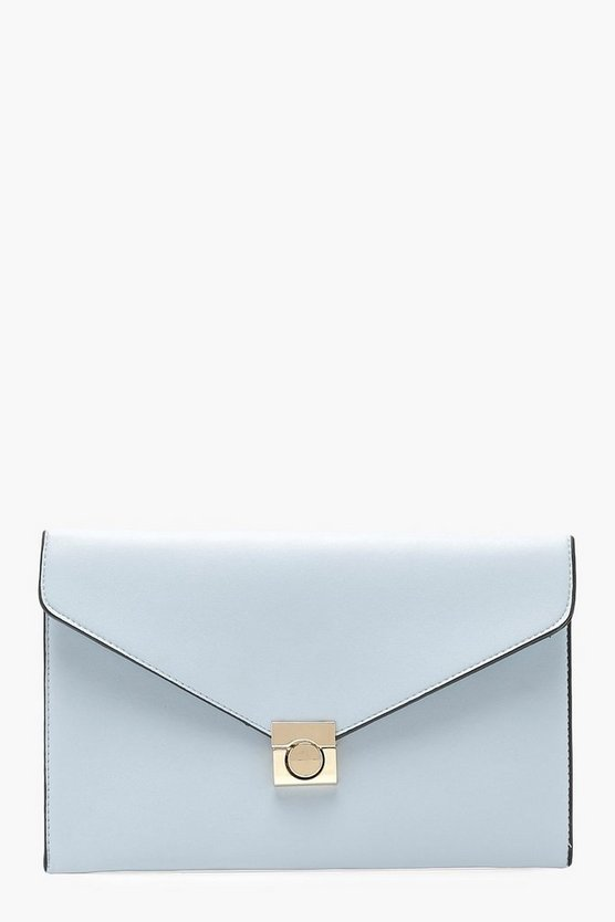 Envelope Clutch With Lock