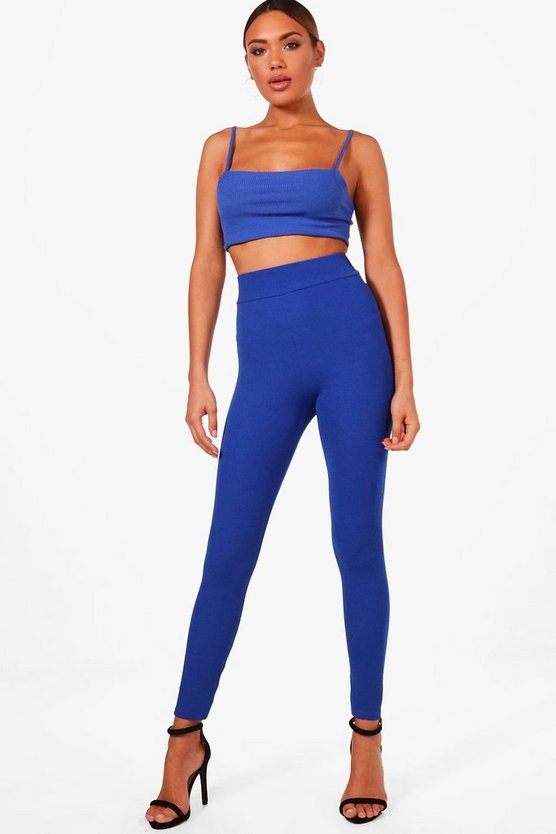 Basic Crepe Highwaist Leggings