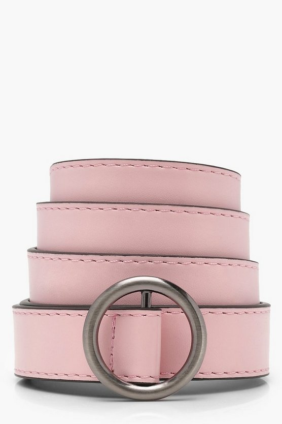 Ring Detail Buckle Belt