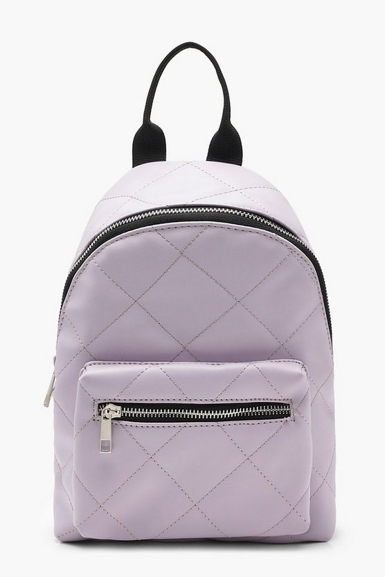 Ivy All Over Quilt Mini Rucksack