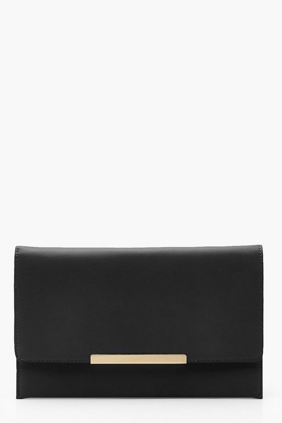 Holly Envelope Bar Clutch