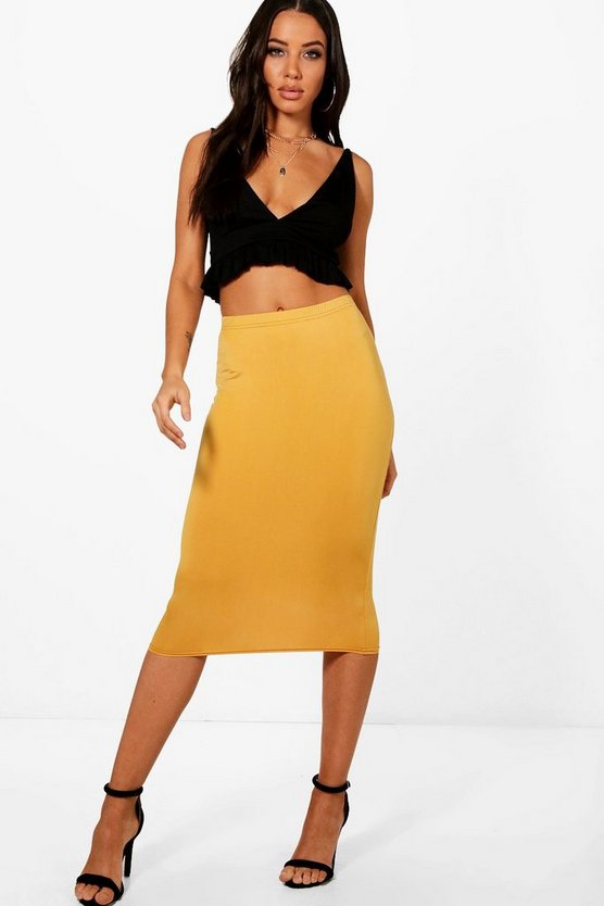 Soft Touch Midi Skirt