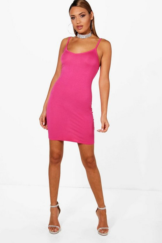 Frieda Strappy Bodycon Dress