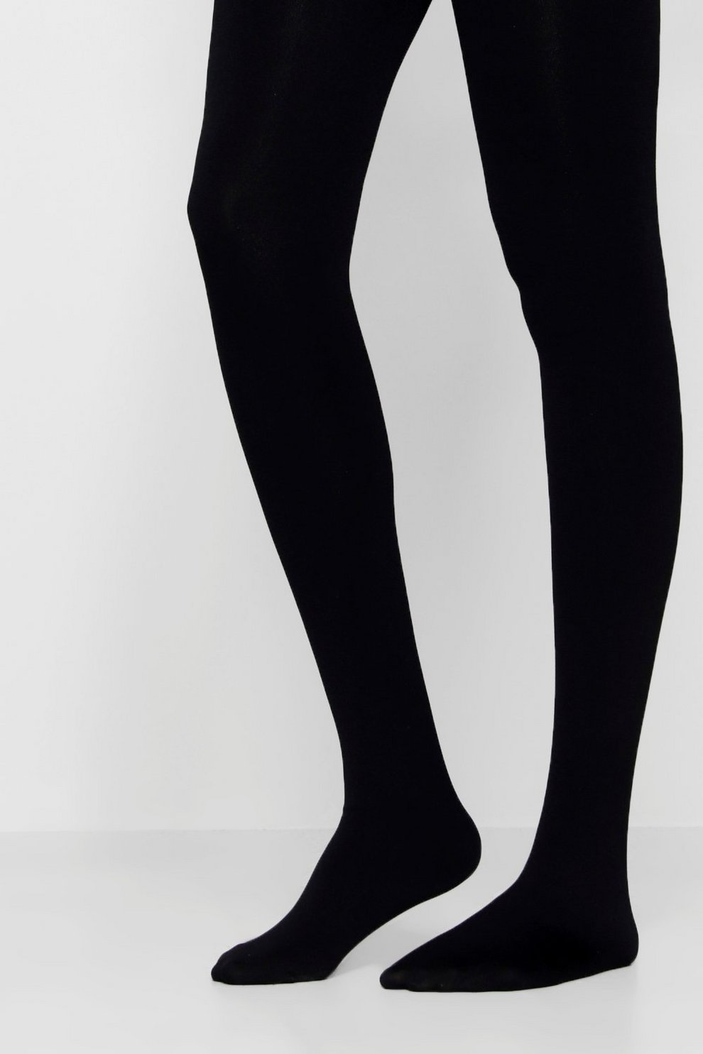 7408555b1dce4 Womens Black Erin Shine 200 Denier Tights